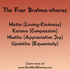 the four Brahma viharas