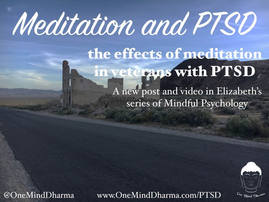 Meditation and PTSD