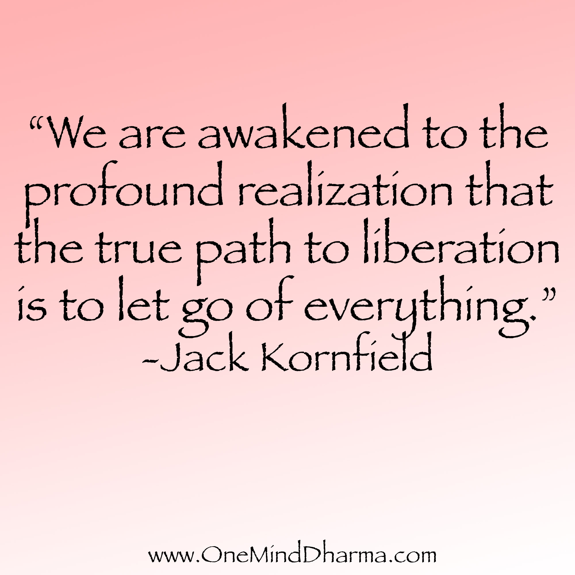 Let Go Quotes Quotes About Letting Go  One Mind Dharma