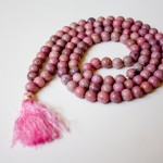 Rhodonite Mala with Tassel