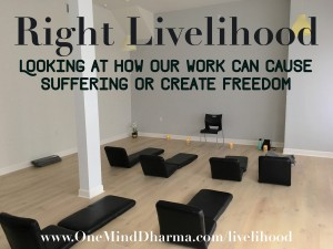 Right Livelihood in Buddhism
