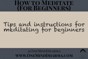 How to Meditate (for Beginners)