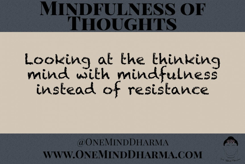 mindfulness of thoughts