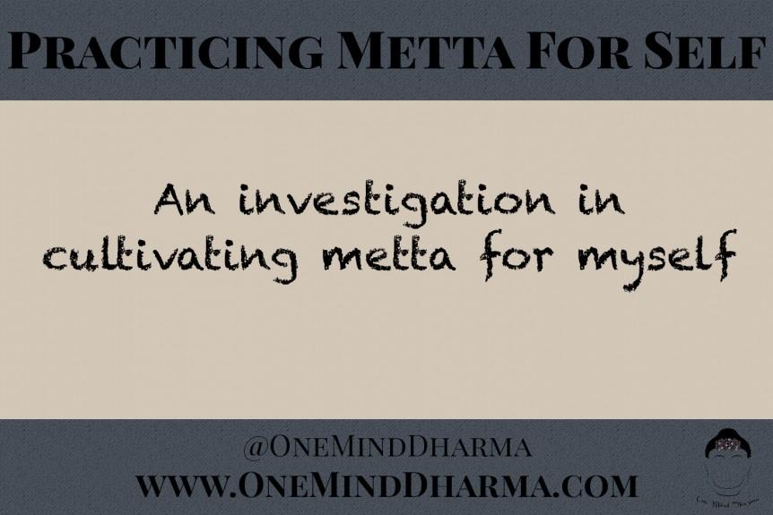 Metta for Self