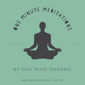 1 Minute Meditation CD