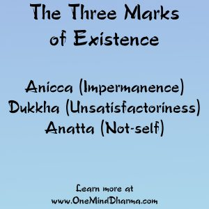 three marks of existence