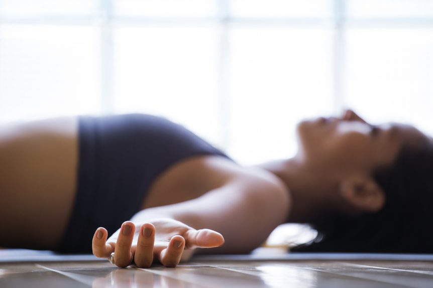 can you meditate lying down