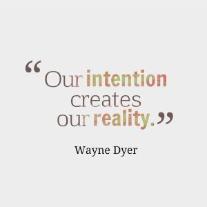 right intention quote