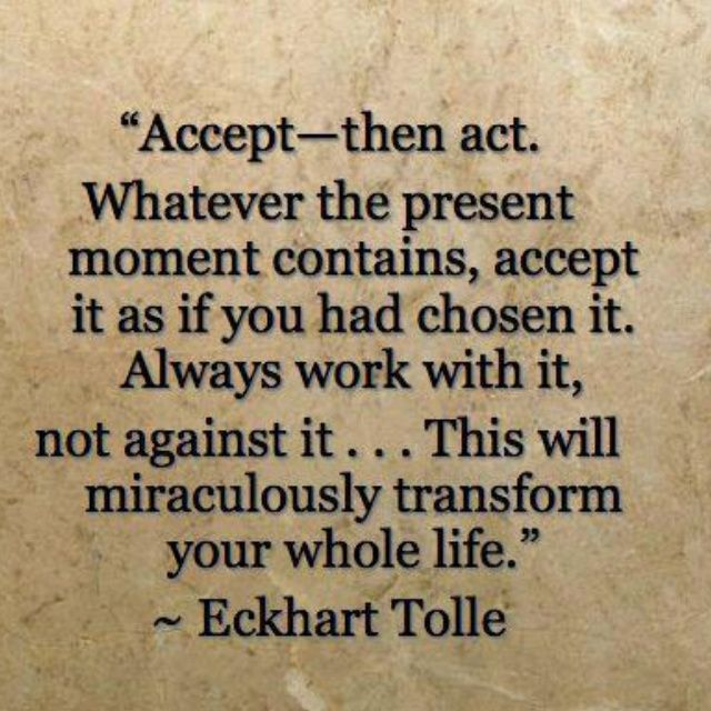 Acceptance Quotes - One Mind Dharma