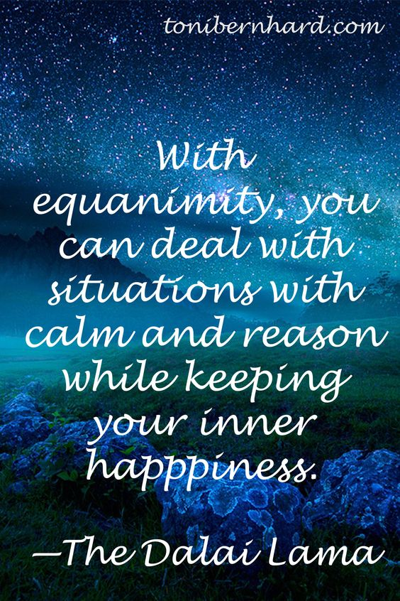 equanimity quote