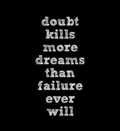 quote about doubt