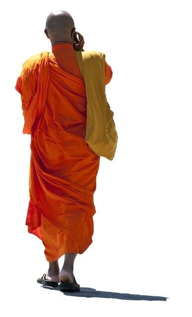 monk talking