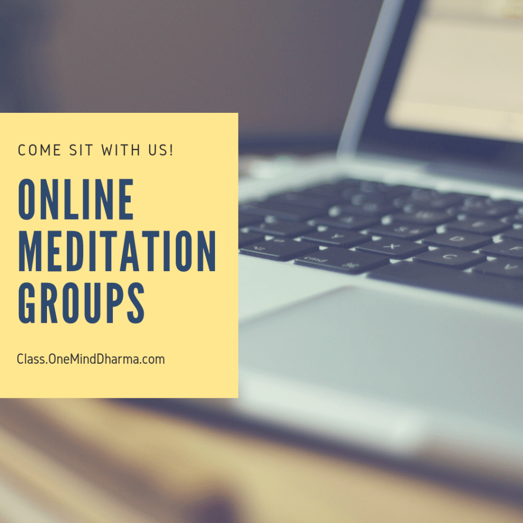 Online Meditation Groups