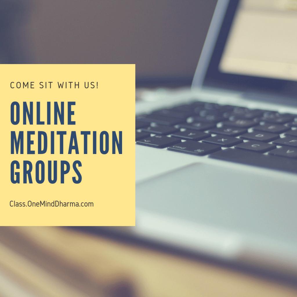 Online Meditation Groups